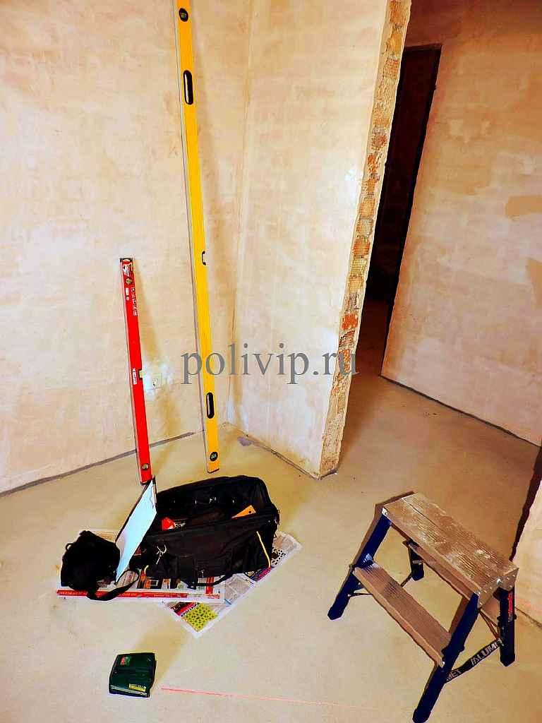 Контроль качества работ в новом доме
