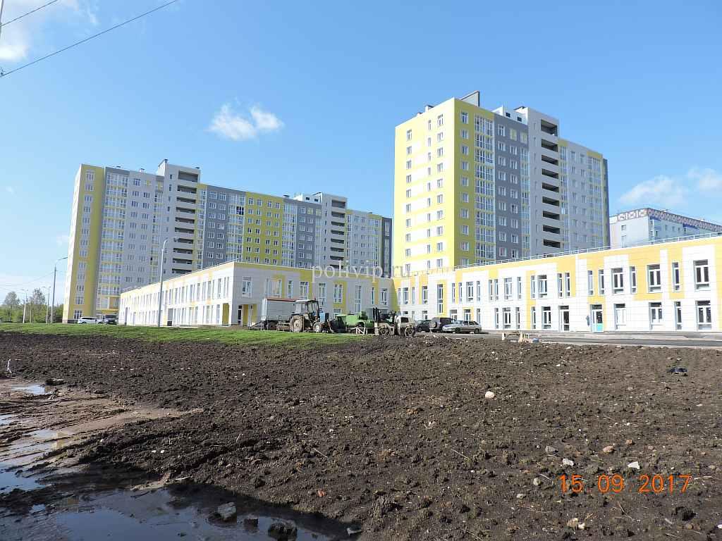 Жилые дома в микрорайоне «Кузнецовский затон»