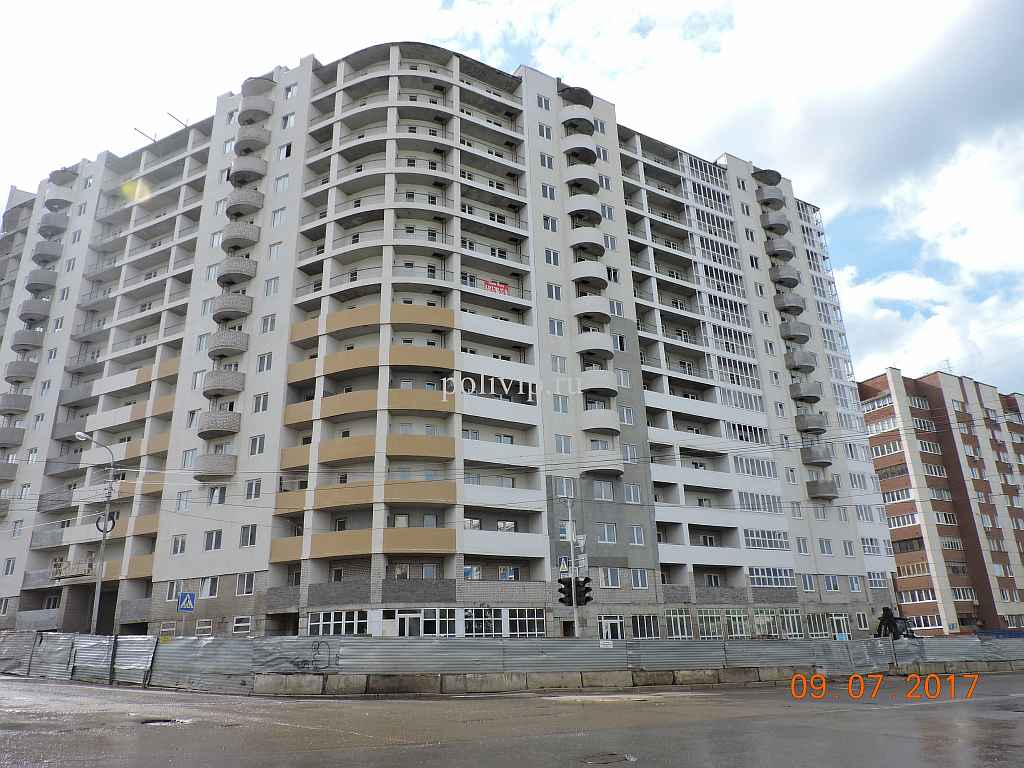 Жилой комплекс на Российской 16